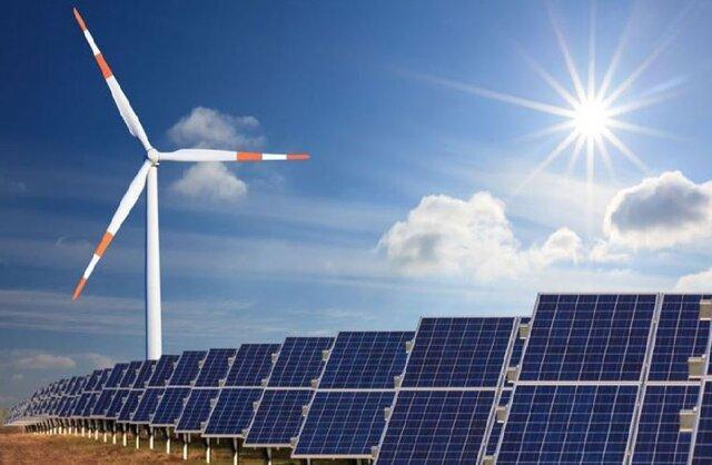 ظرفیت تولید 210هزار مگاوات انرژی بادی و خورشیدی در کشور