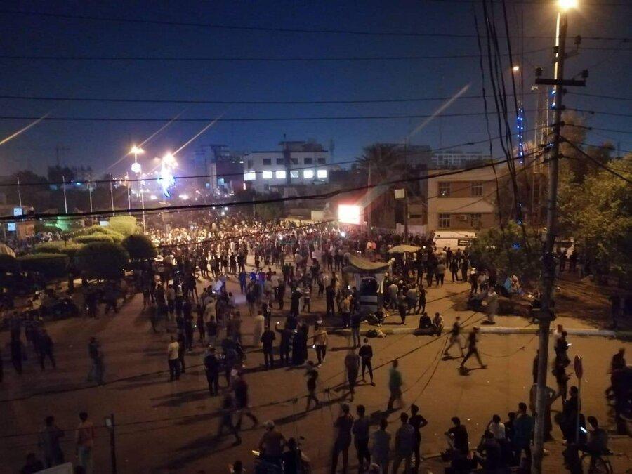 تکذیب ادعاهای رسانه های غربی ، حوادث دیشب کربلا کشته نداشت
