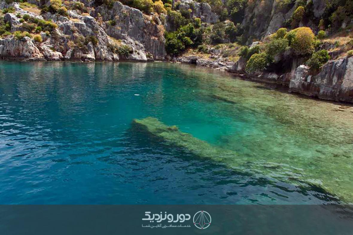 بازگشایی شهر زیر آب به روی شناگران در ترکیه