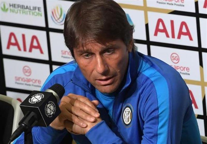 کونته: اینتر به من پیشنهاد نداده بود اما درخواست رم را هم رد کردم، علاقه ای به صحبت درباره یک بازیکن خاص ندارم