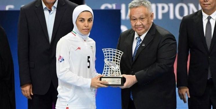 خانم گل فوتسال ایران در لیست 10 بازیکن برتر فوتسال دنیا