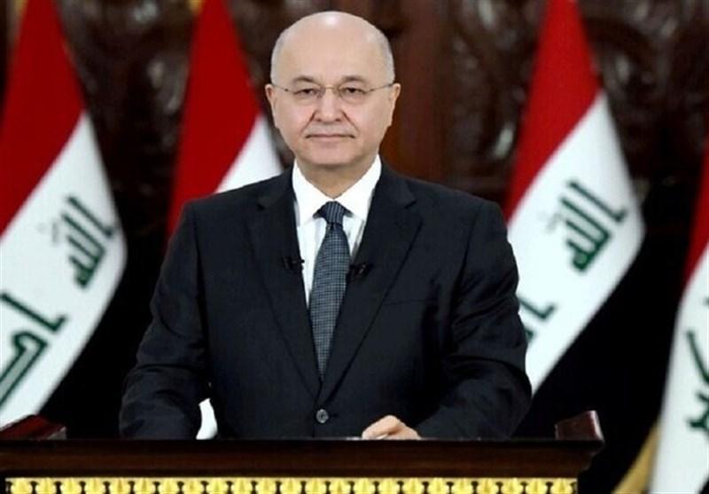 عراق، برهم صالح زمان مذاکره با آمریکا را گفت