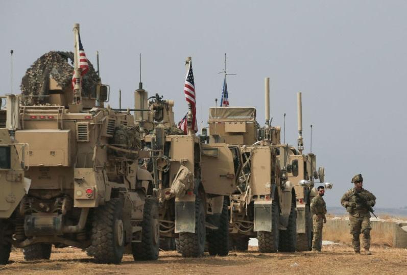 ورود فشرده و پنهانی نظامیان آمریکایی به پایگاه الجزره در سوریه