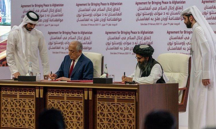 نمایندگان طالبان و آمریکا در قطر ملاقات کردند