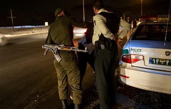 شلیک پلیس سارق قمه به دست را زمین گیر کرد