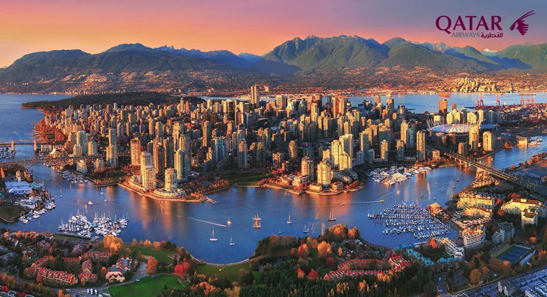 پروازهای ایران کانادا با قطر ایرویز