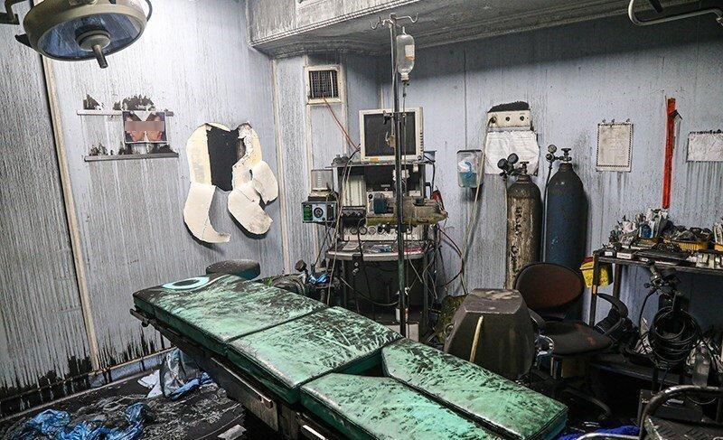 آزادی 11 نفر از بازداشتی های آتش سوزی کلینیک سینا مهر به قید وثیقه ، حادثه امنیتی بود؟