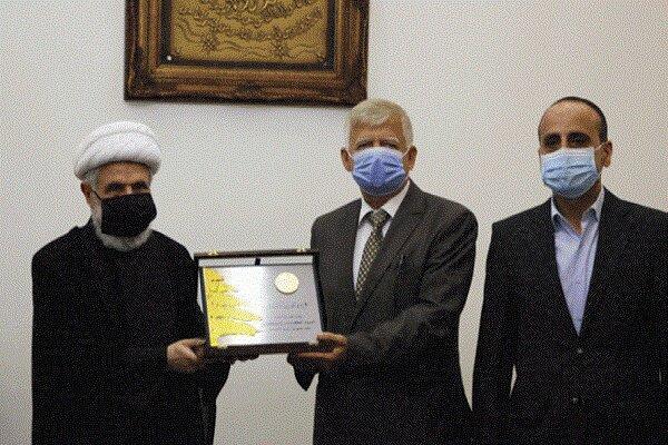 رایزنی معاون دبیر کل حزب الله با سفیر روسیه در لبنان