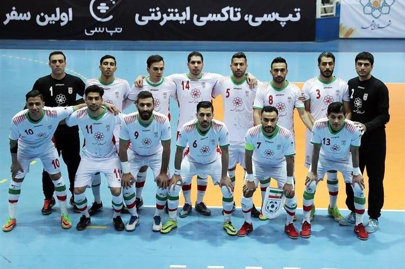 زمان دیدار تیم ملی فوتسال مقابل ازبکستان اعلام شد