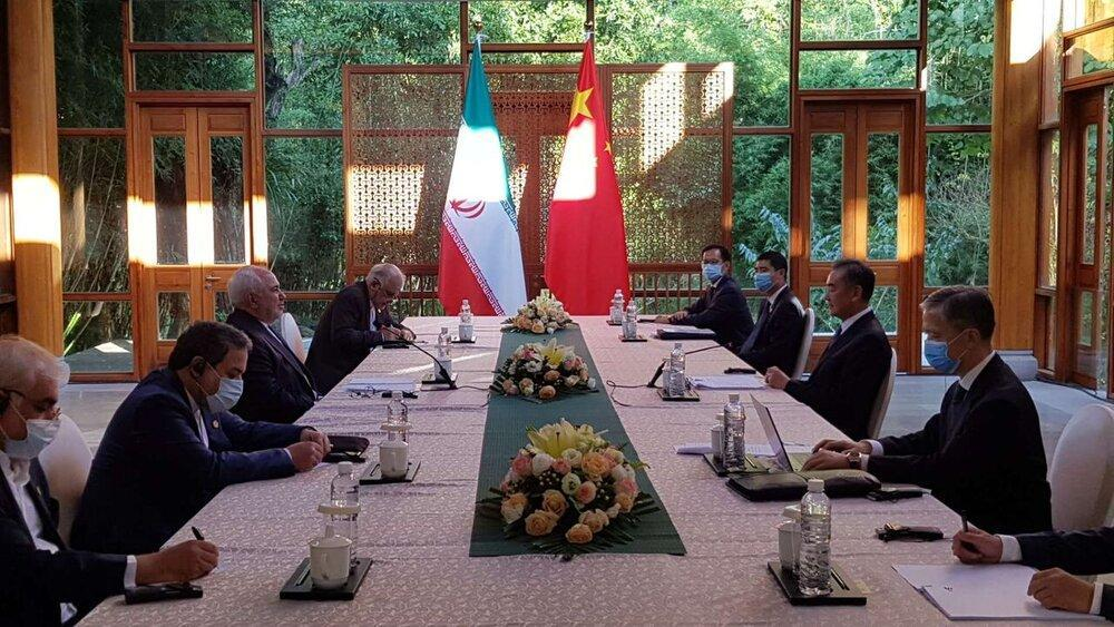 وزیر خارجه چین به ظریف چه گفت؟