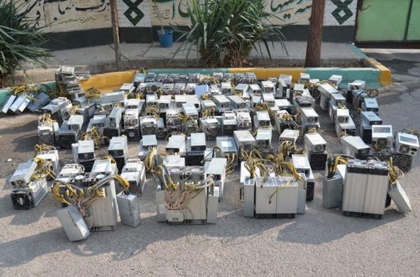 خبرنگاران 32 دستگاه ماینر قاچاق در کرمان کشف شد